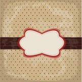 Conception de point de polka de cru illustration de vecteur