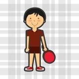 conception de pratique en matière de sports Illustration de Vecteur