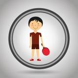 conception de pratique en matière de sports Illustration Stock