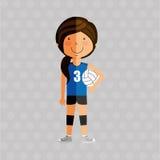 conception de pratique en matière de sports Illustration Libre de Droits