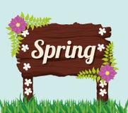 Conception de printemps Photographie stock libre de droits