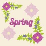 Conception de printemps Images libres de droits