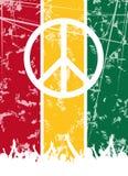 Conception de réception de reggae Images libres de droits