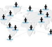 Conception de réseaux Photos libres de droits