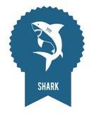 Conception de requin Image libre de droits