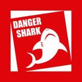 Conception de requin Photographie stock