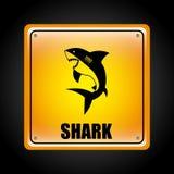 Conception de requin Images libres de droits