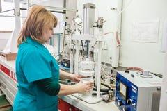 Conception de respirateur et usine de fabrication photo stock