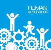 Conception de ressources humaines illustration libre de droits