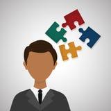 Conception de ressources humaines Icône de personnes Concept des employés Photo libre de droits