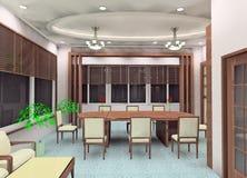 conception de salle de réunion illustration stock