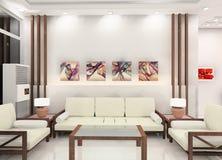 Conception de salle de séjour illustration stock