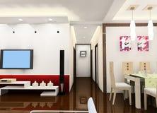 Conception de salle de séjour Image stock
