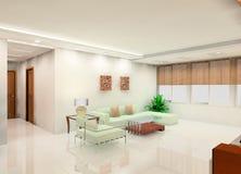 Conception de salle de séjour illustration de vecteur