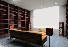 Conception de salle de travail illustration de vecteur