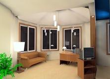 Conception de salle de travail Photo libre de droits