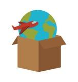 Conception de service de distribution Images stock