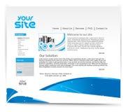 Conception de site Web illustration stock