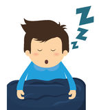 Conception de sommeil Photos stock