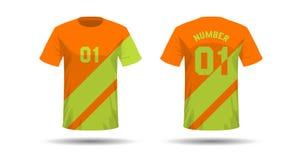 Conception de sport de T-shirt illustration stock