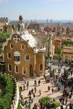 Conception de stationnement Guell - de Gaudi Images libres de droits