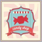 Conception de sucrerie Graphisme doux concept de dessert, illustration de vecteur Image libre de droits