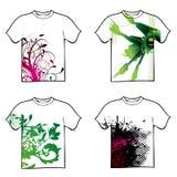 Conception de T-shirt Photo libre de droits