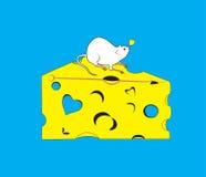 Conception de T-shirt - fromage savoureux Photos libres de droits