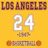 Conception de T-shirt de sport de Los Angeles Image stock