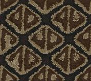 Conception de textile la texture de peau de serpent a répété le boa sans couture d'anakonda de modèle illustration de vecteur