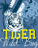 Conception de tigre Photos stock
