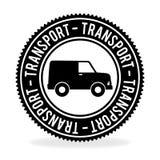 Conception de transport au-dessus de l'illustration blanche de vecteur de fond Image libre de droits