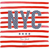 Conception de typographie de T-shirt, dessins d'impression de NYC, illustration typographique de vecteur, conception graphique de Photographie stock