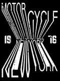 Conception de typographie de slogan de sport automobile Photo libre de droits