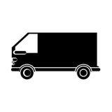 Conception de véhicule d'isolement de fourgon illustration stock