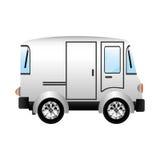 Conception de véhicule de transport Photographie stock