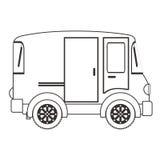 Conception de véhicule de transport Photographie stock libre de droits