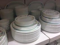 Conception de vaisselle Photographie stock