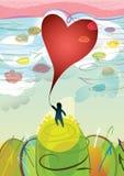 Conception de Valentine Photographie stock libre de droits