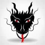 Conception de vecteur de dragon Image libre de droits