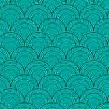 Conception de vecteur de modèle de cercle illustration stock