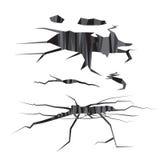Conception de vecteur de trou avec la couleur grise Photos libres de droits
