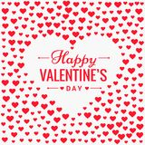 Conception de vecteur de fond d'amour de jour de valentines Photographie stock