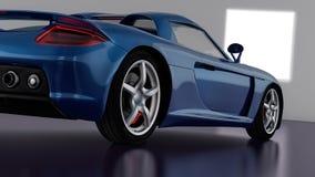 Conception de voiture de sport Images libres de droits