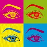 Conception de yeux Photographie stock libre de droits