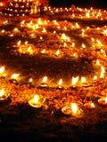 Conception des lampes à pétrole Image stock