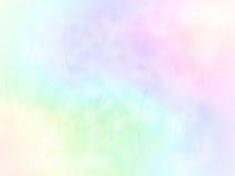 Conception douce de fond de couleur d'arc-en-ciel avec des lames d'herbe Images stock