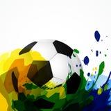 Conception du football de vecteur illustration de vecteur