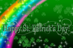 Conception du jour de St Patrick illustration stock