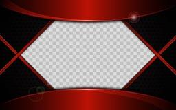 Conception en acier de texture de courbe de cadre de technologie de sports d'innovation de concept de fond abstrait de calibre illustration de vecteur